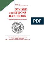 US Army Manual - TM 31-210 - Improvised Munitions Handbook