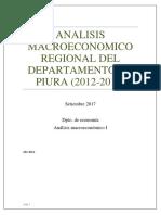 analisis de la economia Regional piura