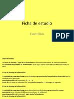 Ficha de Estudio Ley de Faraday