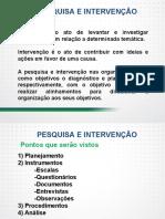 Pesquisa e intervenção nas organizações planejamento, instrumentos (escalas, questionários, documentos, entrevistas, observações), procedimentos e análise.pdf