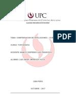 Resumen Mta4 - Compensacion de La Nivelaciones - Topografia