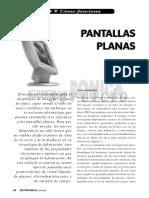 Pantallas Planas
