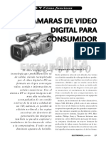 Cámaras de Video Digital Para Consumidor