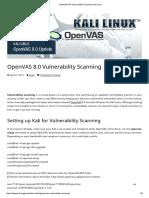 OpenVAS 8