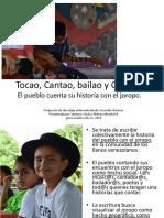 El Pueblo Cuenta Joropo Abordaje Metodologico