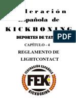 Reglamento LightContact FEK