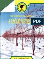 A szőlő metszése