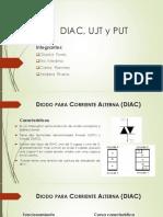 DIAC, UJT y PUT