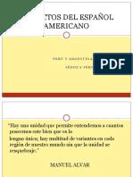 Dialectos Amerianos Oerú-Argentina 1