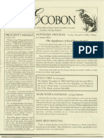 November 2004 Ecobon Newsletter Hilton Head Island Audubon Society
