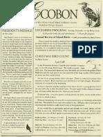 December 2004 Ecobon Newsletter Hilton Head Island Audubon Society
