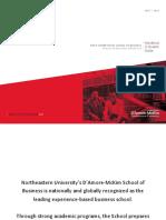 Northeastern NEU D'Amore Mckim School M.S.T.E MSc in Technological Entrepreneurship Program Class of 2018