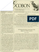 March 2005 Ecobon Newsletter Hilton Head Island Audubon Society