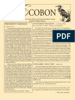 November 2007 Ecobon Newsletter Hilton Head Island Audubon Society
