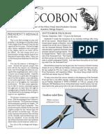 September 2008 Ecobon Newsletter Hilton Head Island Audubon Society