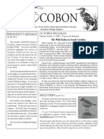 October 2008 Ecobon Newsletter Hilton Head Island Audubon Society