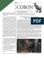 November 2008 Ecobon Newsletter Hilton Head Island Audubon Society
