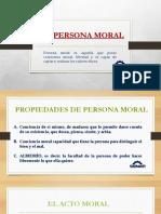 La Persona Moral
