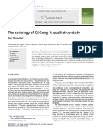 The Sociology of Qi Gong a Qualitative 2010 Complementary Therapies in Med