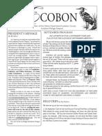 September 2009 Ecobon Newsletter Hilton Head Island Audubon Society