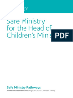 Pathways-Head of Childrens Ministry