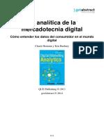 La Analitica de La Mercadotecnia Digital Hemann Es 20696.Simple