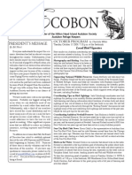 October 2009 Ecobon Newsletter Hilton Head Island Audubon Society