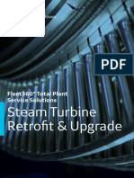 Steam Turbine Retrofit Upgrade