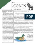 December 2009 Ecobon Newsletter Hilton Head Island Audubon Society