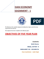 objectives of five year plan.Docx