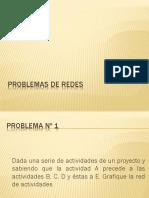 4.3.1 Problemas de Redes