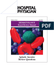 Aplastic Anemia Review questions