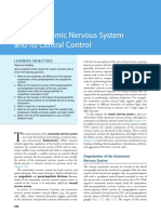 The Autonomic Nervous System and Its Central Control