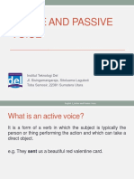 Week 01-English 2-Active and Passive Voice