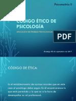 Código Ético de Psicología