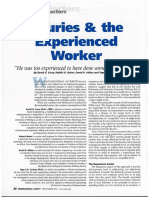 Injuries and the Experienced Worker 09 04