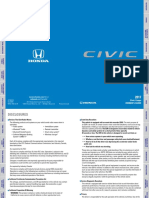 Honda Manual Civic 2017