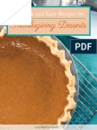 10 Quick and Easy Recipes for Thanksgiving Desserts UPDATED