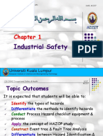 Chapter 1 - Industrial Safety