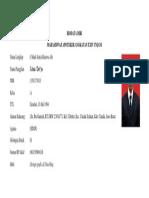 Form Biodata Diri Satria Binawa