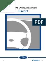 Manual Ford Escort Zetec 1.8 16V