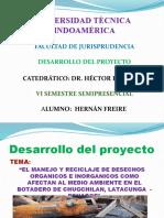 DIAPOSITIVAS PROYECTO BASURA