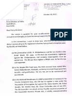 Subramanian Swamy's Letter to PM on Delay in Action of CBI in 7 Cases Oct 18, 2017
