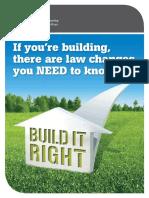 Build It Right FA