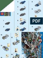 Montaje Lego Coche Policía