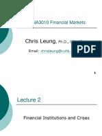 FINA3010 Lecture 2