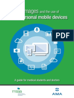 Clinical Images and the Use of Personal Mobile Device