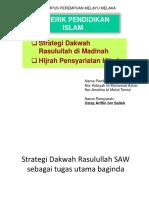 Strategi Rasulullah