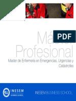 Master de Enfermeria en Emergencias Urgencias Y Catastrofes
