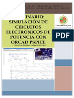 SEMINARIO SIMULACIÓN DE CIRCUITOS ELECTRÓNICOS DE POTENCIA CON ORCAD PSPICE